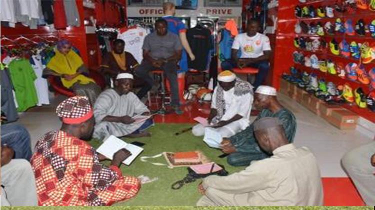 Anniversaire: lecture du Saint-Coran à la boutique du Horoya AC