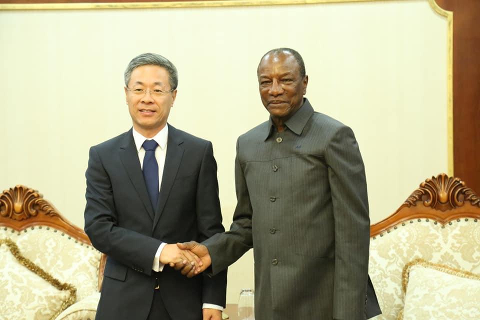 La Chine a un nouvel ambassadeur à Conakry