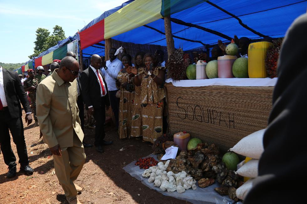Journée mondiale de l'alimentation à Kindia: le Pr. Alpha Condé veut faire de la Guinée le grenier de l'Afrique