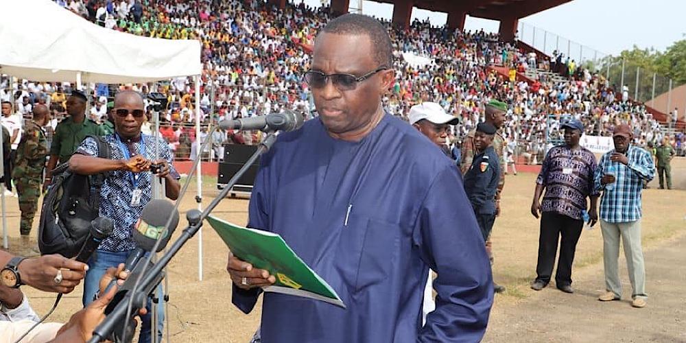 Obsèques des joueurs de Etoile de Guinée: l'émouvant discours du président de la Feguifoot, Mamadou Antonio Souaré