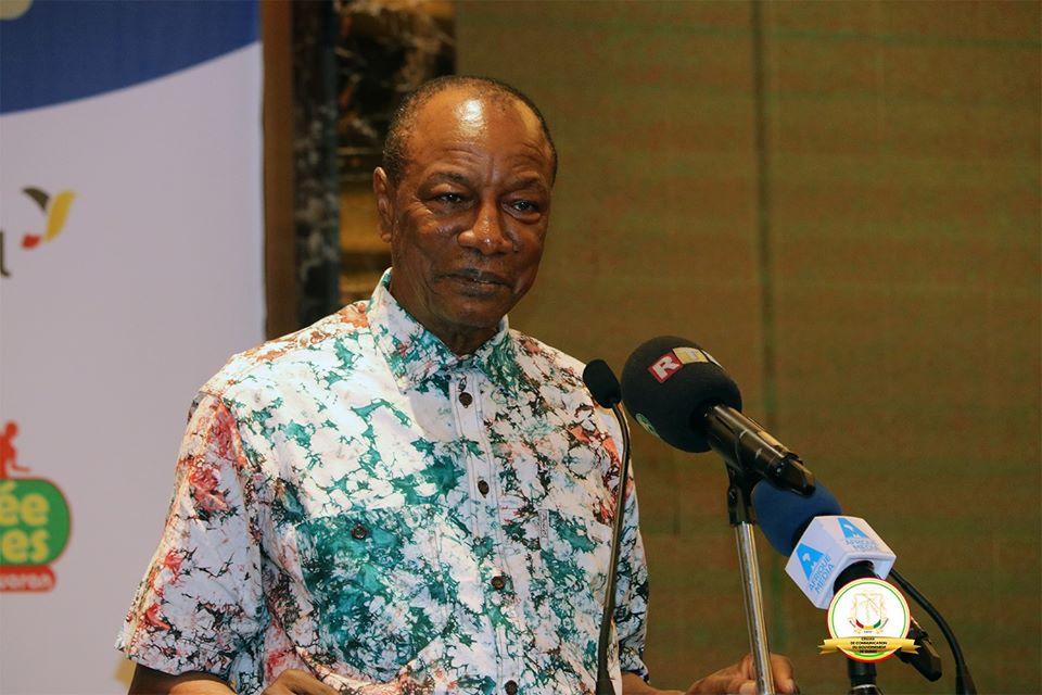 Alpha Condé : «Je n'ai de comptes à rendre qu'au peuple de Guinée»