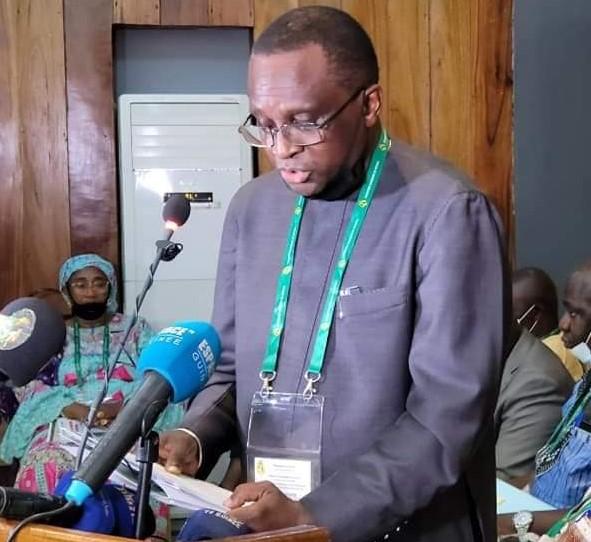 Assemblée Générale Extraordinaire de la Fédération Guinéenne de Football:  Discours d'ouverture du Président  Antonio Souaré