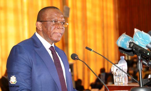 Déclaration de politique générale du premier ministre Kassory Fofana