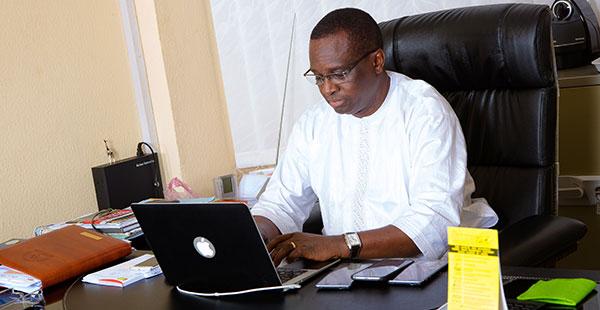Le président de Guinée Games, Antonio Souaré, un homme d'exception
