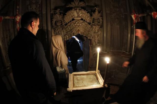 La mystérieuse panne des instruments de mesure lors de l'ouverture du tombeau du Christ